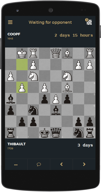 Game#50 - My return to slow chess